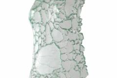 Ediiton III <br/>Torso clear glass, 19 x 12 x 2 inches <br/>2020