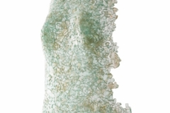 Ediiton III <br/>Torso crushed glass fused wide, 20 x 10.5 x 2 inches <br/>2020